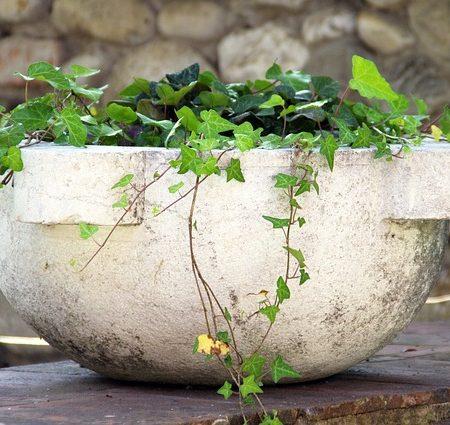 Hvide/lyse urtepotter