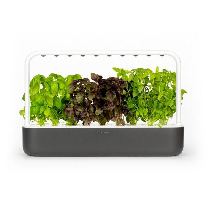 Click and Grow Smart Garden 9 Starter kit Dark Gray