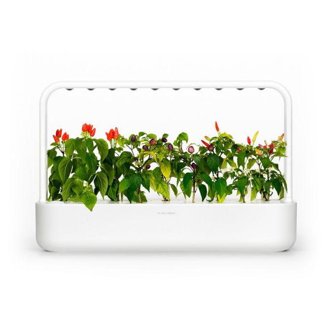 Click and Grow Smart Garden 9 Starter kit Hvid