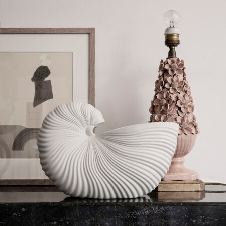 Ferm Living Shell Pot Off-White
